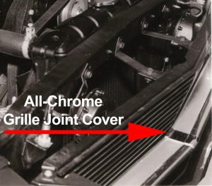SFM6S051 All-Chrome Grllle Joing Cover