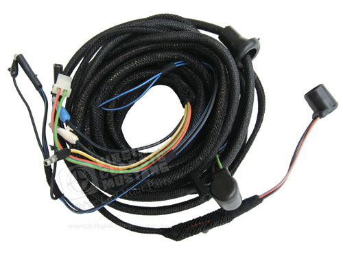 mustang and gt350 shelby tail light wiring harness 1966 gt350 carryover cars. Black Bedroom Furniture Sets. Home Design Ideas