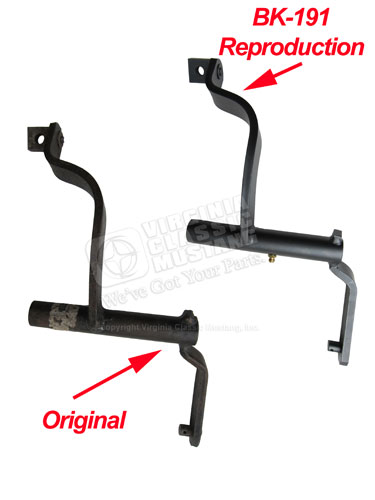 Mustang and Shelby HiPo Clutch Equalizer Bar